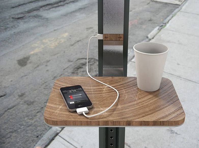 Charge Desk
